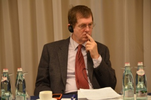 Andrew Rasbash, Head of Operations of the EU Delegation to Ukraine, at project kick-off meeting