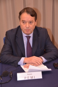 Alain Remy, French Ambassador to Ukraine