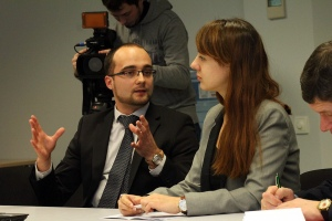 Volodymyr Gushuley, College of Europe alumni