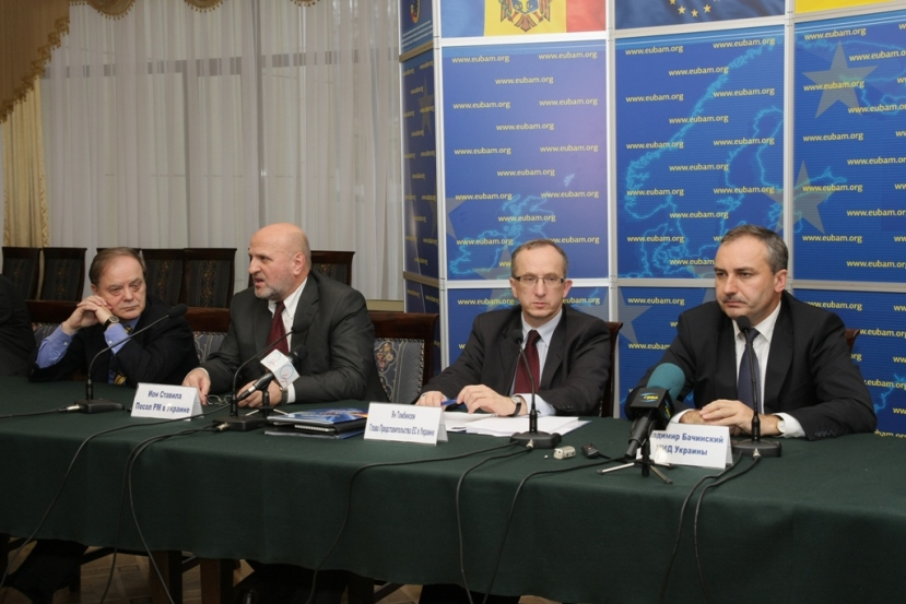 Ambassador Tombinski chairs EUBAM Advisory Board Meeting for first time