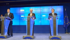 EU-Ukraine summit, Brussels, Feb. 25