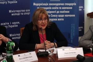 Maria Juríková, the Deputy Head of the European Union Delegation to Ukraine