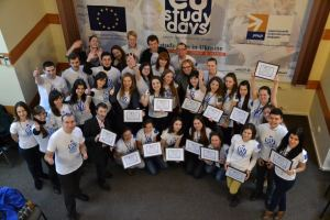 Students of the EU Study days first session