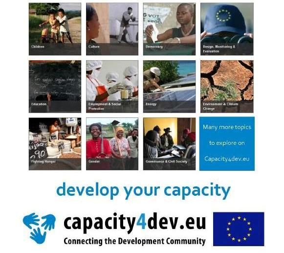 Join capacity4dev – the professional online community of the EU