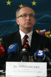 Jan Tombinski, head of the EU Delegation to Ukraine