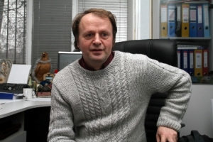 Oleg Dudkin, executive director of the Ukrainian Society for the Protection of Birds