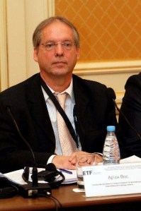 Arjen Vos, Head of the Unit for Eastern Europe and Central Asia of the ETF