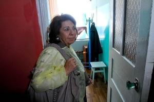 MEP Corinne Lepage in Ivankiv hospital