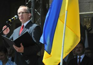 Jan Tombiński, head of the EU Delegation to Ukraine