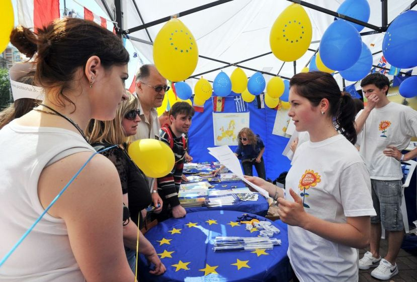Europe Day: Ambassador Tombiński hopes that Ukraine's EU choice will be irreversible (with video)