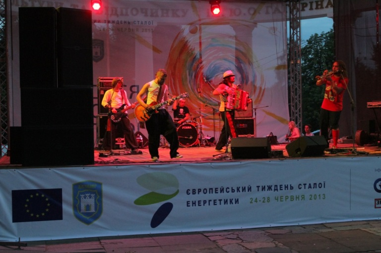 Final concert at the EUSEW opening