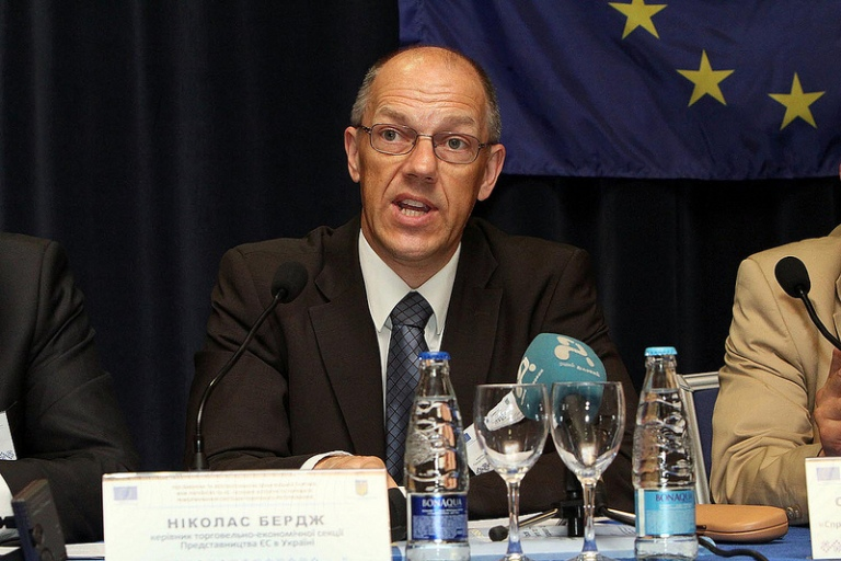 Nicholas Burge, Head of the trade and economic section of the Delegation of the European Union to Ukraine