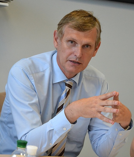 Walter Tretton, head of the Energy, Transport and Environment Section of the EU Delegation to Ukraine