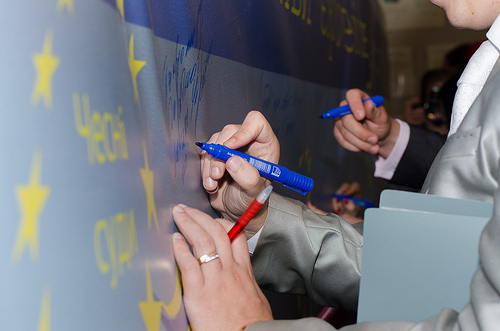 "EU Delegation presents its ""Building Europe in Ukraine"" information campaign in BilaTserkva"