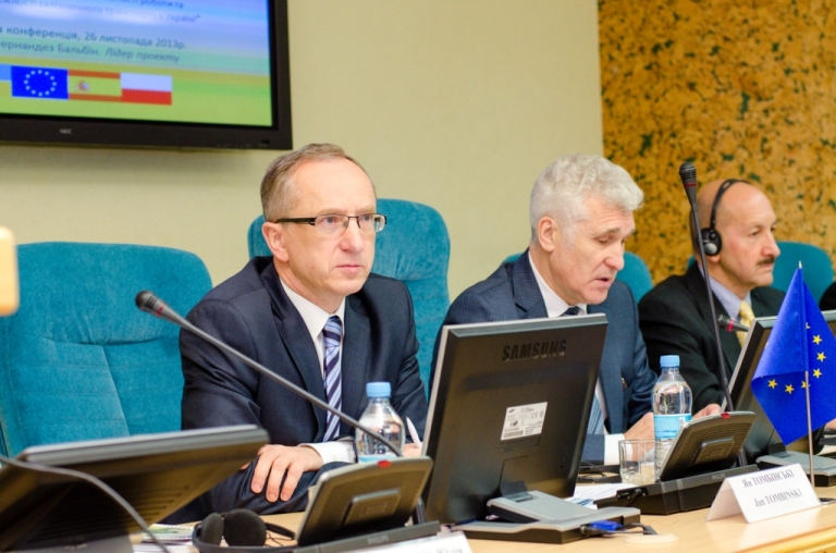 Jan Tombiński, head of the EU Delegation to Ukraine, on the inaugural event of a new Twinning project aimed at increasing the efficiency of Ukrainian railway transportation