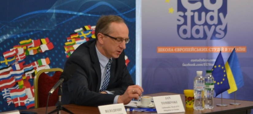 Ambassador: EU association is about strengthening Ukraine's sovereignty (video of thelecture)