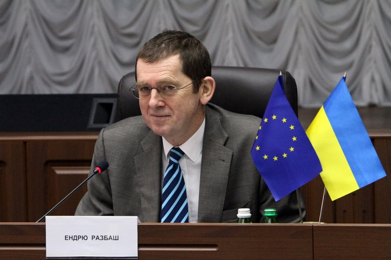 Andrew Rasbash, Head of the co-operation section of the EU Delegation to Ukraine