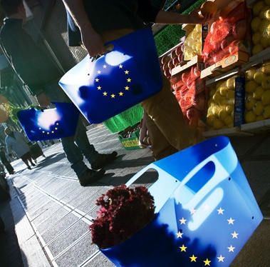 When will Ukrainian products fill the EUcounters?