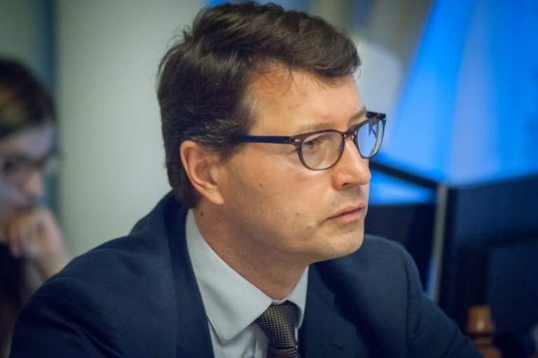 "Dr. Virgilius Valančius, the Team leader of the Project ""Support to Justice Sector Reforms in Ukraine"""