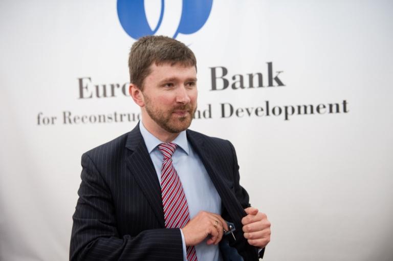 Anton Usov, senior adviser for external affairs at the EBRD