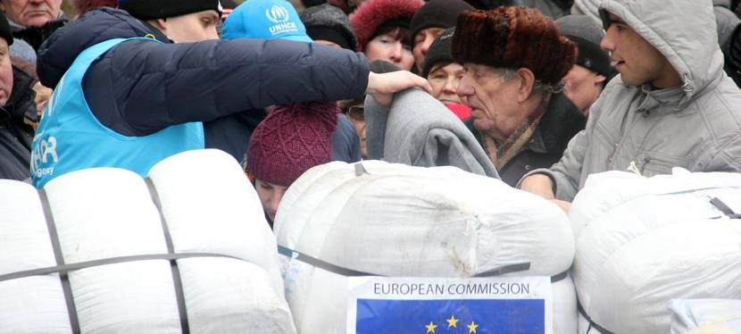 EU sends 85 tons of humanitarian aid to Ukraine