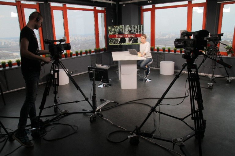 Hromadske TV studio live