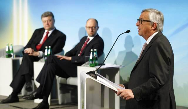 Jean-Claude Juncker to Ukraine:  Keep reforming and we will keep supporting