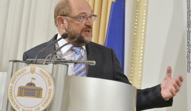 Address of EP President Martin Schulz to the Verkhovna Rada