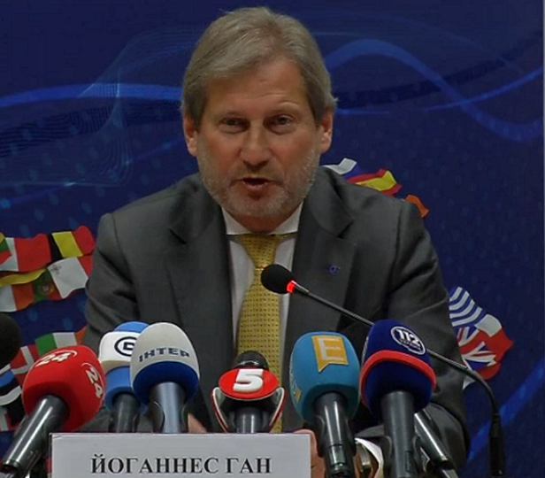 Johannes Hahn urges the new government to continue reforms
