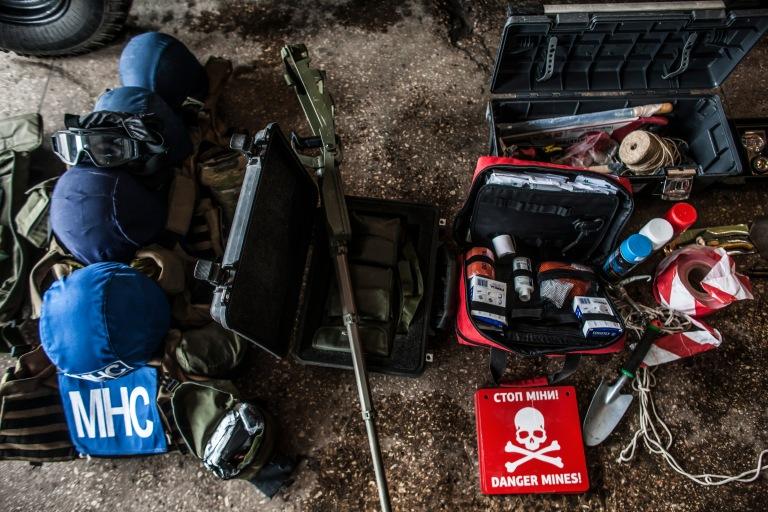DDG/DRC Operations Around Mariupol & Donetsk, eastern Ukraine.