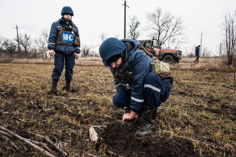 I would have never thought that my skills would be needed in Ukraine – humanitarian demining expert