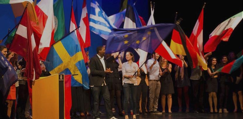 Ukrainian youth plays EuropeanParliament