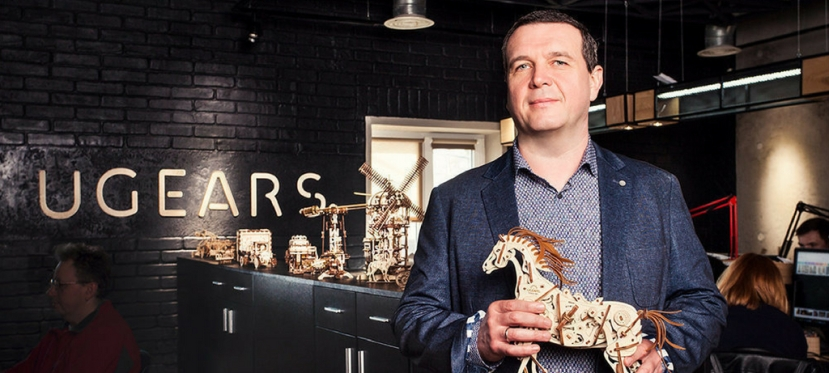 Story of Ukrainian company Ugears' success in EUmarket