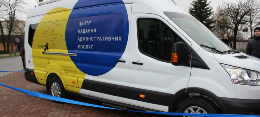 EU launches mobile Administrative Services Centers