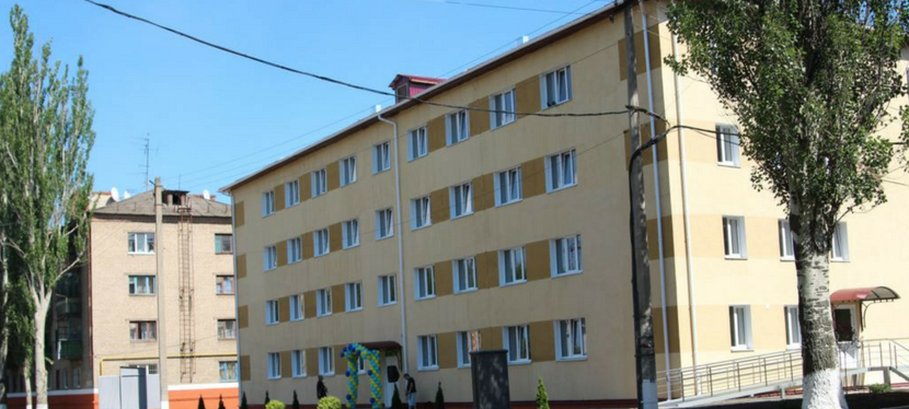 EU helps repair dormitory in Kramatorsk to accommodate IDPs