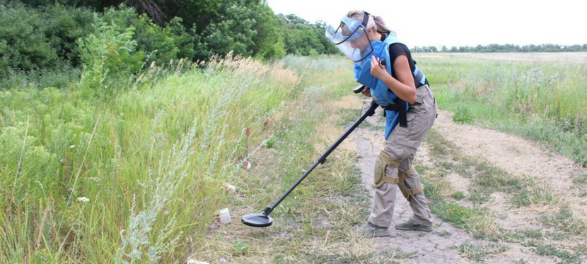 We will return this land to life: EU-supported demining of territories makes people's livessafer