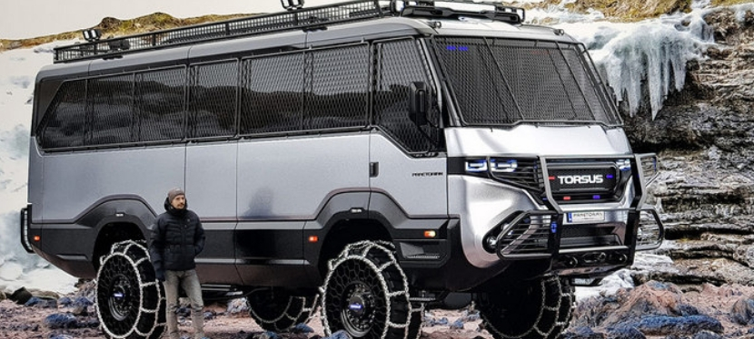 How the Ukrainians made the world's first off-road bus