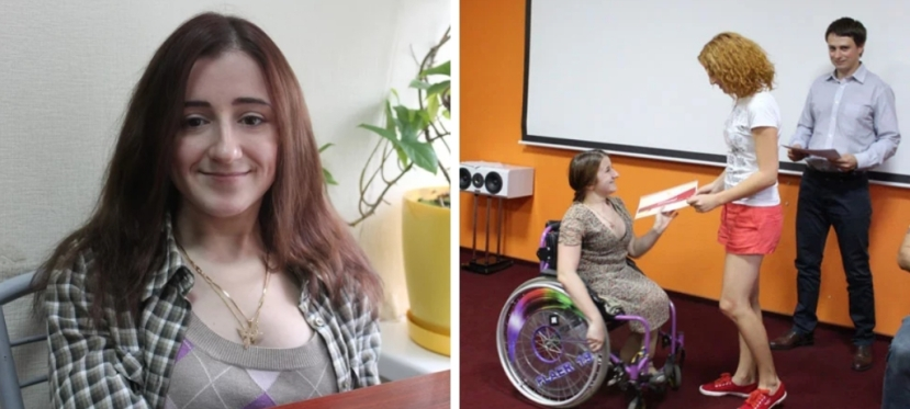 How a girl in wheelchair made a career on national TV channel