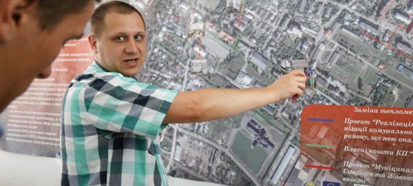 How Zhovkva is becoming an energy efficient city and is refusing fromgas