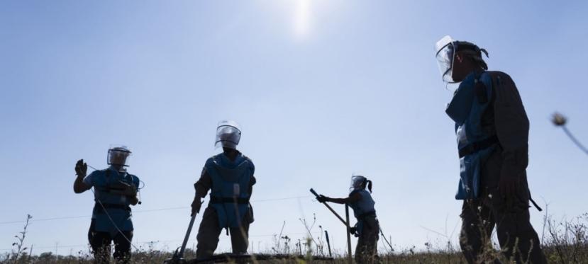 EU finances demining of Luhanskregion