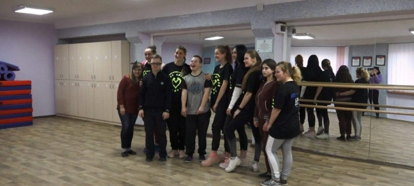 EU-funded inclusive children dance studio in Kharkiv
