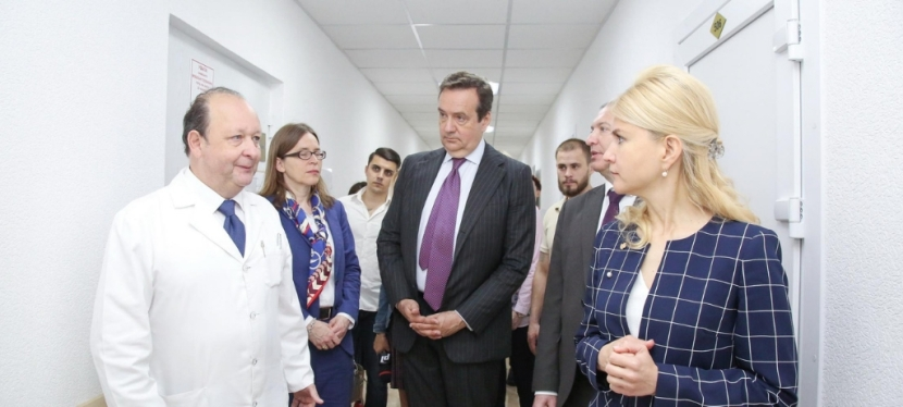 Six medical facilities renovated in Kharkiv thanks to EIB loans