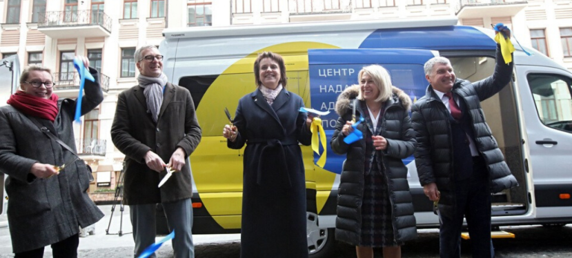 U-LEAD with Europe hands two mobile ASCs to hromadas in Dnipropetrovsk and Khmelnytskyi regions