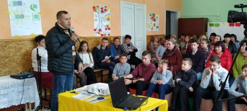 U-LEAD with Europe helps develop schools in Ukrainian communities