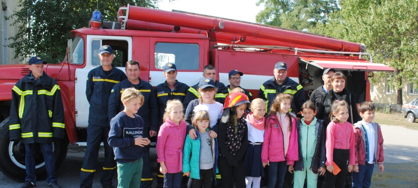 U-LEAD with Europe helps create volunteer fire brigades in Dnipropetrovsk region