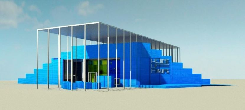 House of Europe presents project of mobile pavilion that will travel across Ukraine