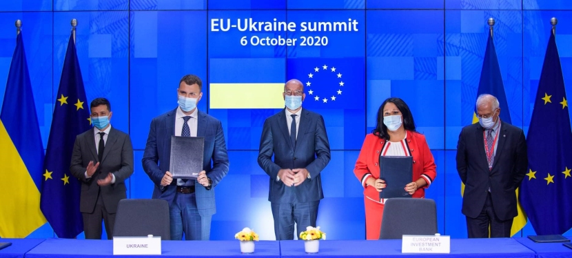 EU to helps increase resilience of Ukraine's East and South amid pandemic